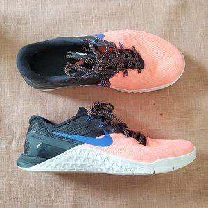 Nike Metcon CrossTraining CrossFit Sneakers Coral